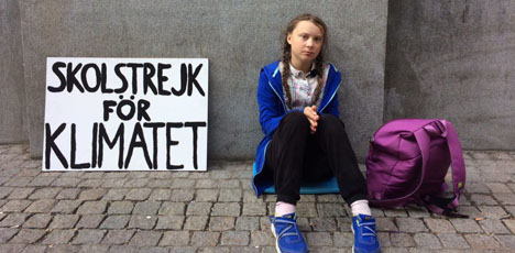 "Greta Thunberg named Times ""Person of the Year"""
